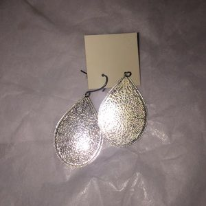 pure expressions Jewelry - NWOT Pure Expression Tear Drop Earrings